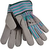G & F 5009L Children's Work Gloves, Grey