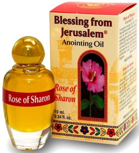 Rose Rosa of Sharon Anointing Oil Blessing of Jerusalem Stunning Smell 10ml (Holy Oil compare prices)