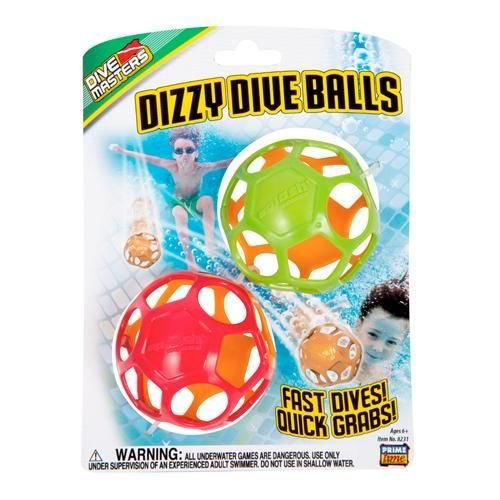Dizzy Dive Balls (Colors May Vary) – Beach & Pool Toy by Prime Time Toys (8231) by Prime Time Toys bestellen