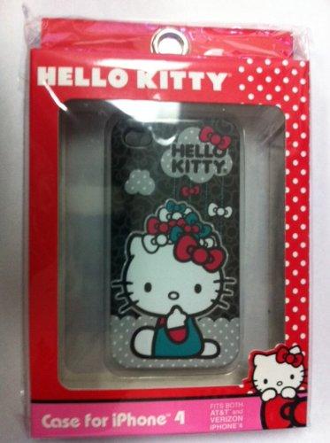Hello Kitty Sanrio Raining Bows iPhone 4 Cover Case