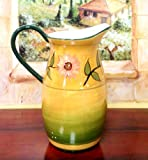 PITCHER JUICE PITCHER,SUNFLOWER YELLOW