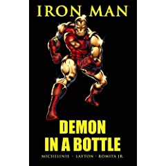 Iron Man: Demon in a Bottle by David Michelinie,&#32;Bob Layton,&#32;John Romita Jr. and Carmine Infantino