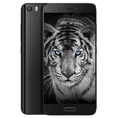 世界初4G LTE+3G同時待ち受け★Xiaomi Mi 5 Standard Editon Global Version 日本仕様★Snapdragon 820・1.8GHz 4G LTE対応 SIM free 2 Slot ハイエンド スマホ・1600万画素 SONYカメラ・5.15インチFHD IPS液晶・RAM 3GB ROM 32GB●DSDA・Fingerprint ID・NFC・VoLTE・Dual Wi-Fi・E-Compass・Type-C USB端子 (Black)