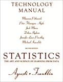 img - for Technology Manual for Statistics: The Art and Science of Learning from Data book / textbook / text book