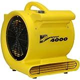 MAXXAIR HVCF4000 4000 CFM High Heavy-duty Carpet and Floor Drying Fan