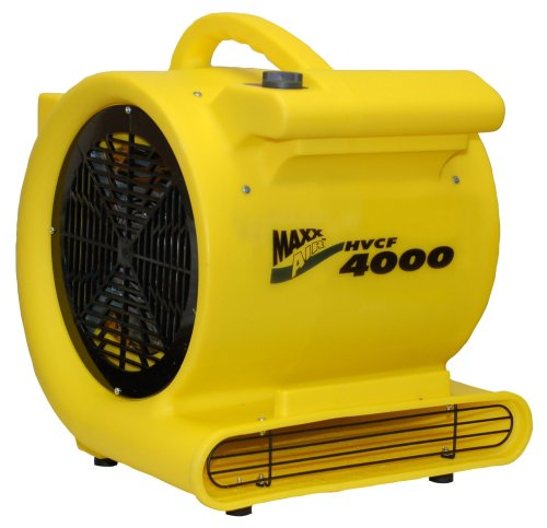 MAXXAIR HVCF4000 4000 CFM High Heavy-duty Carpet and Floor Drying Fan (Chemical Exhaust Fan compare prices)