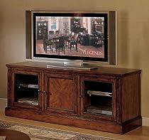 "Big Sale Cambridge 65"" Dark Brown Cherry TV Entertainment Console"