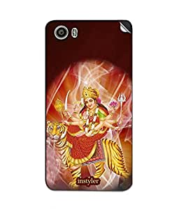 instyler MOBILE STICKER FOR MICROMAX CANVAS FIRE 4A107