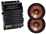 51Gc3VpvMNL. SL160  Legacy Great Amplifier/Subwoofer Package for Car/Truck/SUV    LA120 2 Channel 240W Amplifier + Pair of LWF8X 8 300W Legacy L Series Woofers