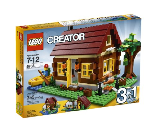 LEGO Creator Log Cabin 5766 Amazon.com