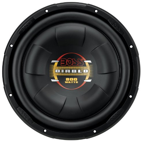 BOSS AUDIO D10F  Phantom 10 inch Single Voice Coil (4 Ohm) 800-watt Subwoofer (Sub Low Profile compare prices)