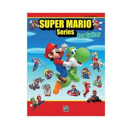 Super Mario Series for Guitar Guitar TAB WLM