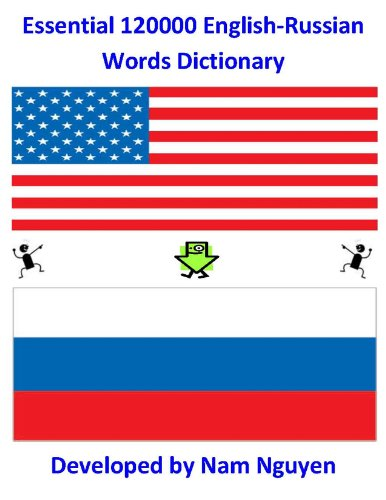 Nam Nguyen - Essential 120000 English-Russian Words Dictionary (English Edition)