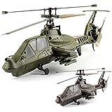 """4.5 Kanal 2.4GHz RC ferngesteuerter Hubschrauber """"COMANCHE RAH-66 TX"""" Fixed-Pitch Outdoor-Helikopter Sofort Flugbereit, Single Blade Heli, 2,4GHz, Neu"""