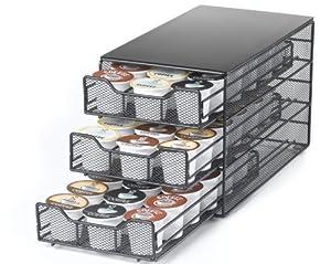 Keurig Brewed 3-tiered K-Cup Drawer-Holds 54 K-Cup Packs