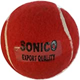 Sonico Cricket Tennis Red Ball (box Of 6 Balls)