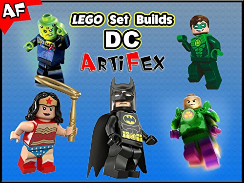 Clip: Lego Set Builds DC - Season 1