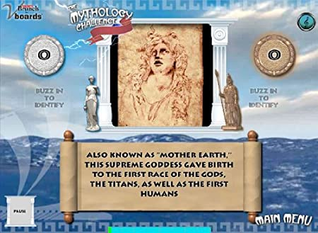 Mythology Challenge Game on CD