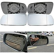 Alcoa Prime Brand New 1 Pair Left Passenger Right Driver Door Wing Mirror Glass For VW /Golf MK4 1996-2004
