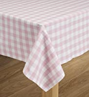 Pure Cotton Gingham Check Tablecloth [T34-1587T-S]