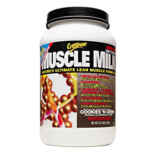 Cytosport Muscle Milk Cookies 'N Creme - 2.47 Lbs (1120 G)