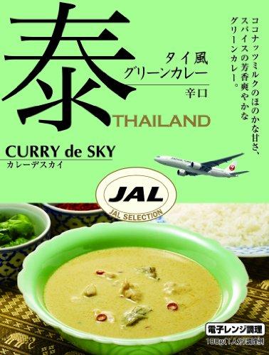 大塚食品 カレーデスカイ タイ風グリーンカレー 辛口