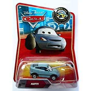 Disney Pixar Cars - Final Lap Series - Matti