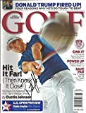 Dustin Johnson Autographed Golf Magazine June 2010