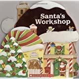 Santa's Workshop: (A Shaped Board Book)