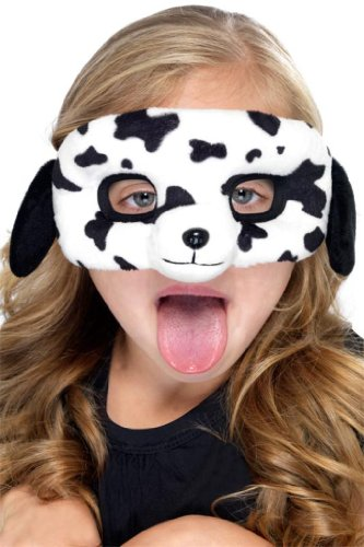 Kids Dalmatian Dog Plush Mask - 1