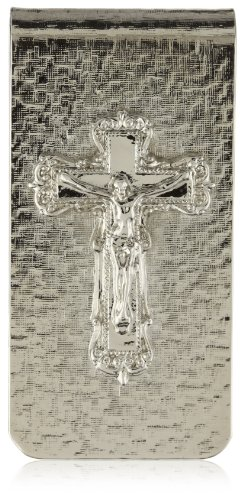 The Vatican Library Collection Silver-Tone Crucifix Money Clip