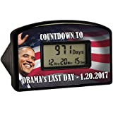 Barack Obama Countdown Clock, 2017 Track the Final Day Right Down to the Min