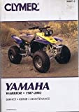 img - for Clymer Yamaha Warrior, 1987-2002 (Clymer Motorcycle Repair) by John R. LaMarsh (2002-01-03) book / textbook / text book