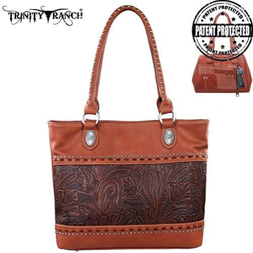 montana-west-tr20g-8317-trinity-ranch-tooled-design-concealed-handgun-brown-western-handbag-purse