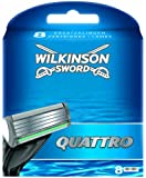 Wilkinson - 70070950 - Chargeur de 8 Lames Quattro