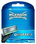 Wilkinson Sword Quattro Klingen, 8 St�ck