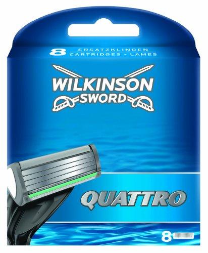 Wilkinson sonstige Rasierklingen Quattro 8 pezzi