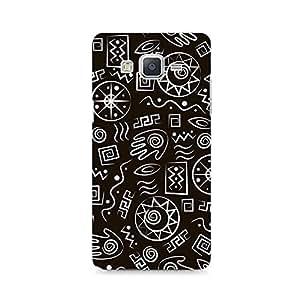 Motivatebox - Primitive Symbols Samsung Galaxy E7 cover - Polycarbonate 3D Hard case protective back cover. Premium Quality designer Printed 3D Matte finish hard case back cover.