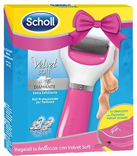 Scholl - Special Pack Velvet Soft Pink + Pochette