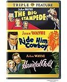 Big Stampede & Ride Him Cowboy & Haunted Gold [DVD] [1933] [Region 1] [US Import] [NTSC]