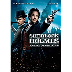 Sherlock Holmes: A Game of Shadows (plus Bonus Features!)