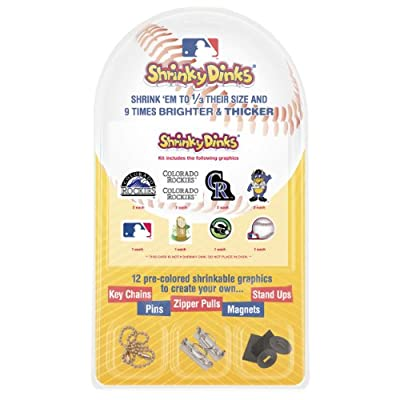 MLB Colorado Rockies Shrinky Dinks