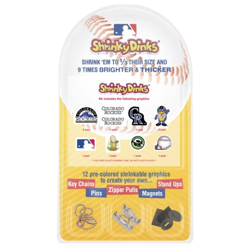 MLB Colorado Rockies Shrinky Dinks - 1