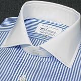 (クリーブ・オブ・ロンドン)Cleeve of London クレリックシャツ ロンドンストライプ