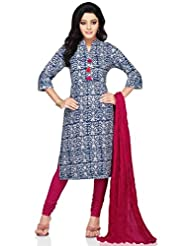 Vastra Vinod Abstract Print Cotton Kurti