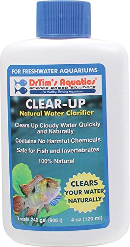 DrTim's Aquatics Clear-UP Natural water Clarifier Freshwater, 4-Ounce (Cloudy Water compare prices)