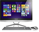 Lenovo B50-30 60,5 cm (23,8 Zoll) FHD IPS All-in-One Desktop-PC (Intel Core i5-4460T, 2,7GHz, 8GB RAM, Hybrid 2TB HDD + 8GB SSHD, NVIDIA GeForce 840A/2GB, DVD, NFC, Touchscreen Win 8.1) silber