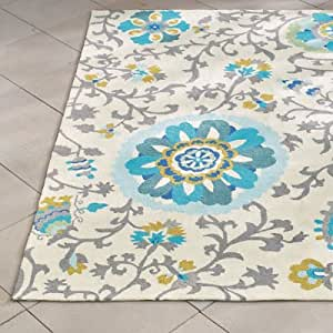 Amazon Lacey Outdoor Rug 5 x 8 Grandin Road