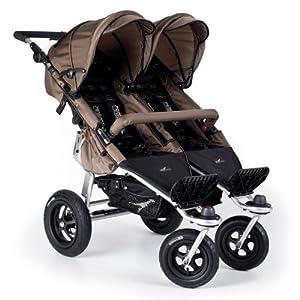 TFK Trends for Kids Twinner Twist Duo II Double Stroller, Mud from TFK Trends for Kids