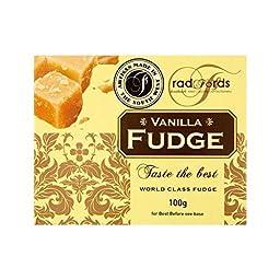 Radfords Vanilla Fudge 100g - Pack of 4